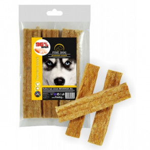 FINE DOG Kuřecí tyč 12cm 96%MASA 3ks