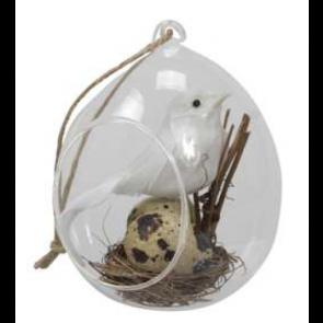 Skleněné vajíčko závěs