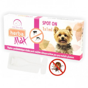 HerbaLine SpotOn MINI DOG 1ml