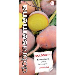 Dobrá semena Řepa salát. - Boldor F1 žlutá 60s