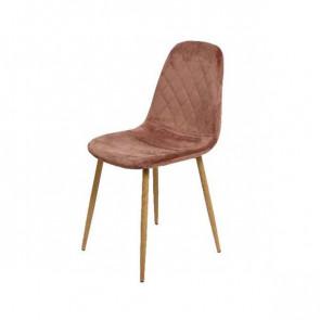 Dekorace  Židle sametová 44x47x87cm