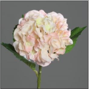 UK Hortenzie větvička sv. růžová