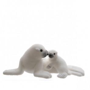 Tuleň s mládětem