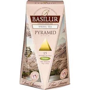 BASILUR Four Season Spring Pyramid 15x2g