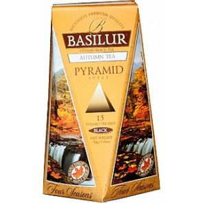 BASILUR Four Season Autumn Pyramid 15x2g
