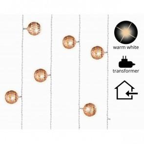 Světelný LED řetěz balonky