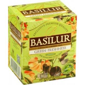 BASILUR Bouquet Green Freshness přebal 10x1,5g