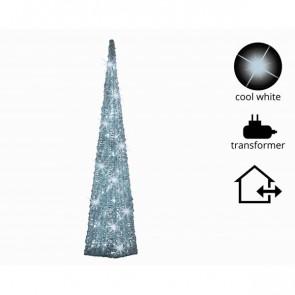 Vánoční světelná pyramida 60cm