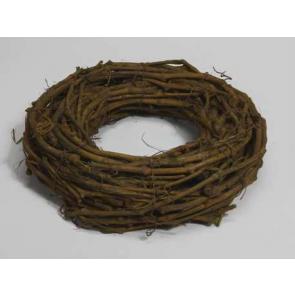Dekorace  věnec vinná réva zelená pr.50cm