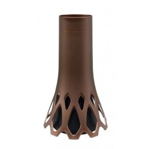 Váza Roseta 1,3 l se zátěží bronz, výška 34,5 cm