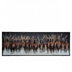 Obraz s jeleny 3,5x123x43cm