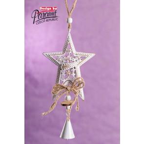 Dekorace 5172 závěsná hvězdička