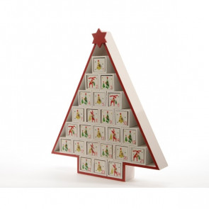 Adventní kalendář stromek