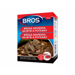 BROS měkká návnada na myši a potkany 150g