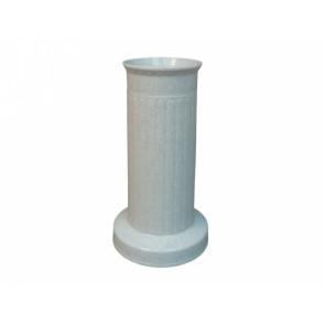 Váza hřbitovní SLOUP d12x22h/těžká granit