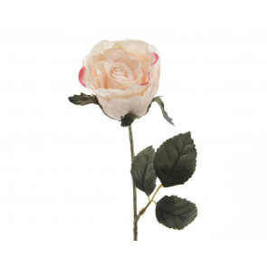 Umělá růže růžová 45cm