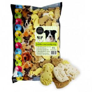 FINE DOG Bakery Zvířátka s vůní vanilky 500g