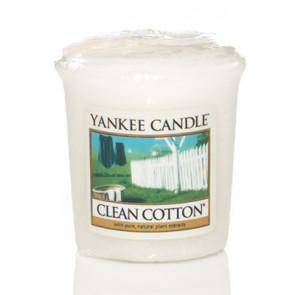 YANKEE CANDLE votivní svíčka - Clean Cotton 22g