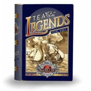 BASILUR Book Legends Earl Grey plech 100g
