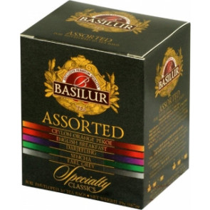 BASILUR Assorted Specialty přebal 8x2g a 2x1,5g