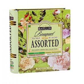 BASILUR Book Assorted 32 Bouquet plech 32x1.5g