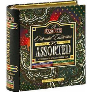 BASILUR Book Assorted Orient plech 24x2g a 8x1,5g