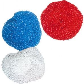 Drátěnka plastová - 3 ks různé barvy