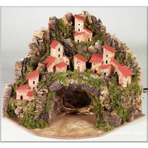 Betlém jeskyně bez postav
