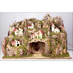 Betlém jeskyně velká bez postav