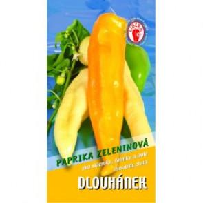 Paprika kozí roh - Dlouhánek (15 semen)