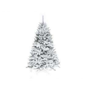 Stromek vánoční SMRK umělý zasněžený 160cm + stojan