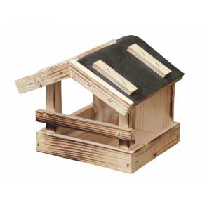Krmítko č.4 dřevěné přírodní