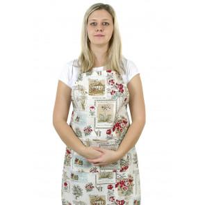 Kuchyňská zástěra DANA - zahrada