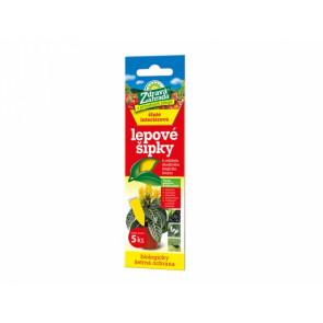 Lepové šipky ZDRAVÁ ZAHRADA na molice a mšice žluté 5ks