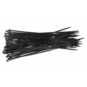 Káblové pásky černé 450mm 50ks