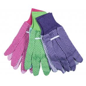 Bavlněné rukavice sada 3 ks vel.7