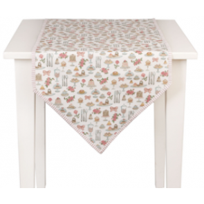 Běhoun na stůl 50x160 cm - Cakes and Pastries