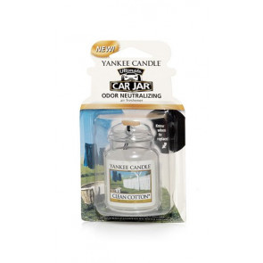 YANKEE CANDLE visačka do auta - CLEAN COTTON
