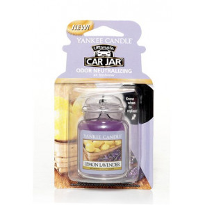 YANKEE CANDLE visačka do auta - LEMON LAVENDER