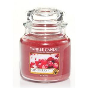 YANKEE CANDLE Classic střední - Cranberry Ice 411g