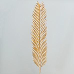 Cykasová větev 55x11cm bronzová