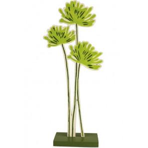 Dřevěná květina malá