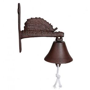 Zvonek s ježkem - litina