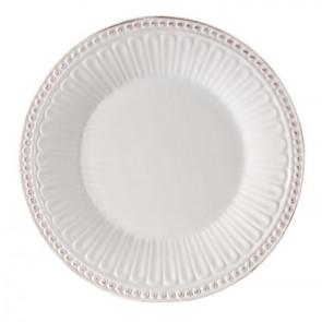 Dezertní talíř 18 cm, bílý
