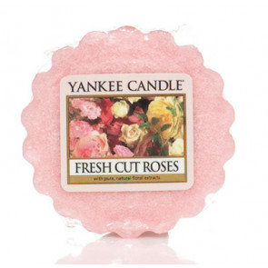 YANKEE CANDLE vosk - Fresh Cut Roses 22g