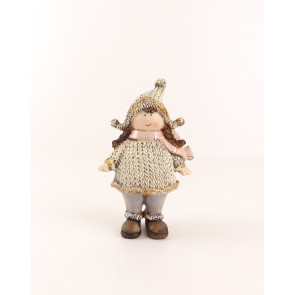Figurka dívka ve svetru