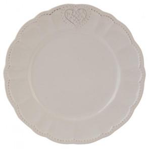 Dezertní talíř 21 cm, srdce