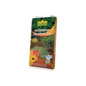 FLORIA Decor. ColorMulch oranžová 70 l