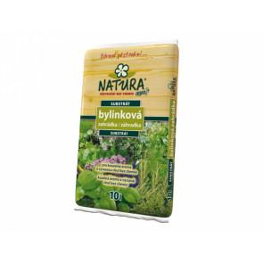 Substrát Agro NATURA Bylinková zahrádka - substrát 10l