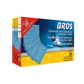 BROS-náhradní náplň do elektrického odpařovače - polštářky 20ks